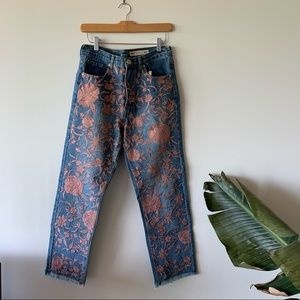 ASOS Embroidered Jeans